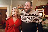 Surviving Christmas (2004)<br /> James Gandolfini &amp; Catherine O'Hara<br /> *Filmstill - Editorial Use Only*<br /> CAP/KFS<br /> Image supplied by Capital Pictures