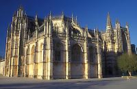 AJ0860, Portugal, Mosterio de Sante Maria da Victoria (monastery) in Batalha.