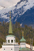 St. Michael's Russian Orthodox cathedral in Sitka, southeast, Alaska.