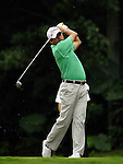 TAIPEI, TAIWAN - NOVEMBER 19:  Frankie Minoza of Philippines tees off on the 2nd hole during day two of the Fubon Senior Open at Miramar Golf & Country Club on November 19, 2011 in Taipei, Taiwan. Photo by Victor Fraile / The Power of Sport Images