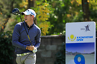Tom Murray (ENG) during the first round of the Kazakhstan Open presented by ERG played at Zhailjau Golf Resort, Almaty, Kazakhstan. 13/09/2018<br /> Picture: Golffile | Phil Inglis<br /> <br /> All photo usage must carry mandatory copyright credit (&copy; Golffile | Phil Inglis)