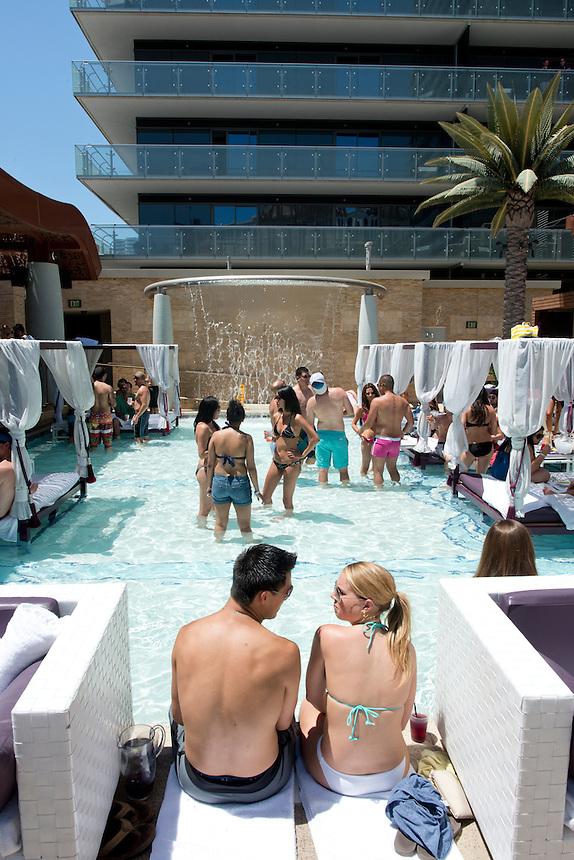 Marque Day Club at the Cosmopolitan. Las Vegas, Nevada, USA