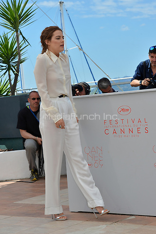 Riley Keough at the Photocall &acute;American Honey` - 69th Cannes Film Festival on May 15, 2016 in Cannes, France.<br /> CAP/LAF<br /> &copy;Lafitte/Capital Pictures /MediaPunch ***NORTH AND SOUTH AMERICA ONLY***