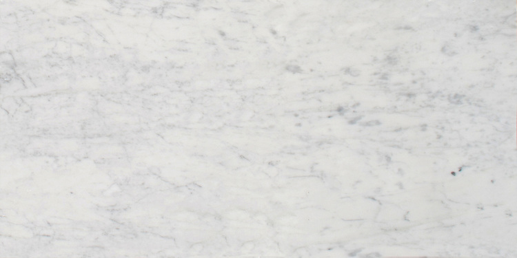 """Carrara slab. Available in 2cm slab, 12"""" x 12"""" x 3/8"""", 12"""" x 24"""" x 3/8"""". Polished finish.<br /> Slab size varies. Please request price quote, dimensions, and lot photo prior to each order."""