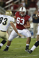 16 September 2006: Chris Marinelli during Stanford's 37-9 loss to Navy during the grand opening of the new Stanford Stadium in Stanford, CA.