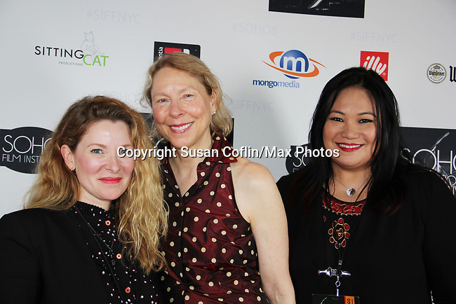 Cady McClain - Sarah Kernochan, Sybil Santiago at Seeing is Believing: Women Direct at its East Coast Premiere at Soho International Film Festival on June 19, 2017 in New York City, New York.(Photos by Sue Coflin/Max Photos)