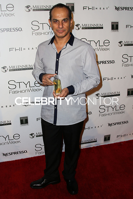 LOS ANGELES, CA, USA - MARCH 12: Said Faraj at the Style Fashion Week Los Angeles 2014 7th Season - Day 4 held at L.A. Live Event Deck on March 12, 2014 in Los Angeles, California, United States. (Photo by Xavier Collin/Celebrity Monitor)
