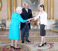 Queen Elizabeth II Private Audience at Buckingham Palace