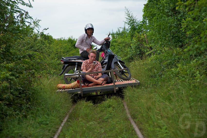 Battambang Cambodia, Bamboo Train