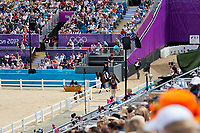 NZL-Jonathan Paget (CLIFTON PROMISE) 2012 LONDON OLYMPICS (Saturday 28 July 2012) EVENTING DRESSAGE: INTERIM-6TH (44.10)