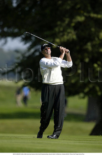 ROCCO MEDIATE (USA), 2002 American Express World Golf Championships, Mount Juliet, Co Kilkenny, Ireland, 020921. Photo: Neil Tingle/Action Plus...golf golfer player....... ........................