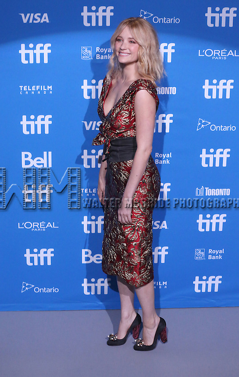 Haley Bennett attends 'The Magnificent Seven' press conference during the 2016 Toronto International Film Festival at TIFF Bell Lightbox on September 8, 2016 in Toronto, Canada.