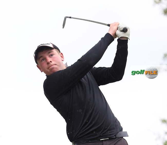 Cian Henry (Ballyhaunis) on the 7th tee during Round 2 of the Irish Boys Amateur Open Championship at Tuam Golf Club on Wednesday 24th June 2015.<br /> Picture:  Thos Caffrey / www.golffile.ie