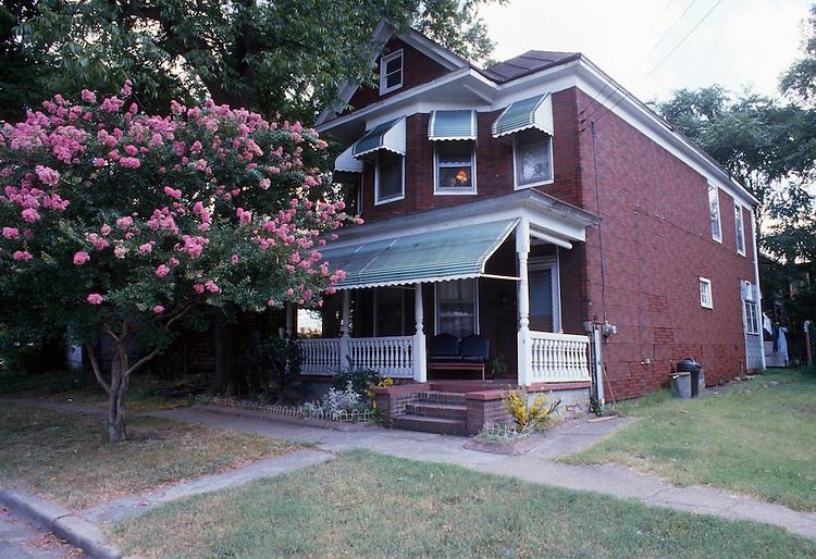 1988 August ..Redevelopment.Huntersville 1&2 (R-70)..OUTTEN STREET...NEG#.NRHA#..