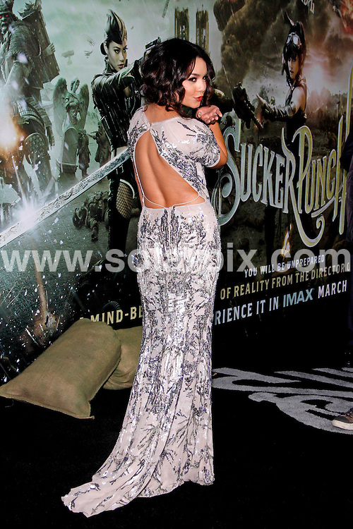 "**ALL ROUND PICTURES FROM SOLARPIX.COM**                                             **SYNDICATION RIGHTS FOR UK, AUSTRALIA, DENMARK, PORTUGAL, S. AFRICA, SPAIN & DUBAI  - Arrivals for the ""Sucker Punch"" World Premiere at Grauman's Chinese Theater, Hollywood, CA, USA Photo Credit: David                                                                             This pic:    Vanessa Hudgens                                                                                          JOB REF:    13017    PHZ Gabber     DATE:  24.03.11                                                           **MUST CREDIT SOLARPIX.COM OR DOUBLE FEE WILL BE CHARGED**                                                                      **MUST AGREE FEE BEFORE ONLINE USAGE**                               **CALL US ON: +34 952 811 768 or LOW RATE FROM UK 0844 617 7637**"