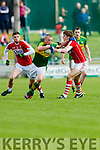 Kieran Donaghy Kerry in action against Ian Maguire Cork in the National Football league in Austin Stack Park, Tralee on Sunday.