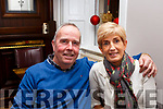 Brendan and Aileen Griffin from Ardfert enjoying the Womens Little Christmas celebrations in the Imperial Hotel on Saturday night last.
