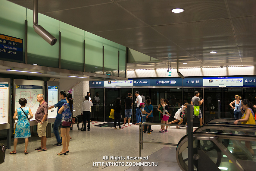 Bayfront Subway Station, Singapore