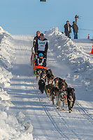 XX on Cordova St. hill during the Anchorage start day of Iditarod 2018 on Cordova St. hill during the Anchorage start day of Iditarod 2019