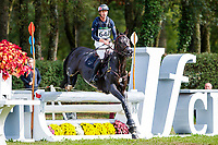 FRA-Thomas Carlile rides Dartagnan de Beliard during the Cross Country for the CCI2*-L6YO. Interim-6th. 2019 FRA-Mondial du Lion - FEI World Breeding Championships. Le Lion d'Angers. France. Saturday 19 October. Copyright Photo: Libby Law Photography