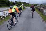 pictured at the half way break at Kilmackillogue Harbour in County Kerry whilst taking part in the annual Sneem Cycle, &ldquo;Wild Atlantic Challenge Charity Cycle&rdquo; in aid of Breakthrough Cancer Research at the weekend.<br /> Photo Don MacMonagle<br /> <br /> repro free photo<br /> Further info: Ann O'Sullivan ann@breakthroughcancerresearch.ie