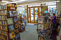 Basic Books, a bookstore with used and new books, downtown Hilo, on the Big Island of Hawai'i.