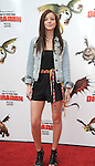 UNIVERSAL CITY, CA. - March 21: Samantha Droke arrives at the premiere of ''How To Train Your Dragon'' at Gibson Amphitheater on March 21, 2010 in Universal City, California.