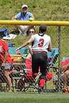 02 June 2017:  Maddie Quattro. Goreville Blackcats v Heyworth Hornets class 1A IHSA Class 1A Softball Semi-Final at Eastside Centre in East Peoria Illinois