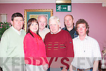 C O M M I T T E E :.Asdee Race.Dance Committee.pictured at.The Golf Hotel,.Ballybunion, on.Friday night. From.left: Oliver Kearney,.Siobhan.Keane (secretary).John OSullivan.(president),.Ray Keane (chairman),.Tom OSullivan.and Fergus.OConnor (PRO).