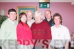 C O M M I T T E E :.Asdee Race.Dance Committee.pictured at.The Golf Hotel,.Ballybunion, on.Friday night. From.left: Oliver Kearney,.Siobhan.Keane (secretary).John OSullivan.(president),.Ray Keane (chairman),.Tom OSullivan.and Fergus.OConnor (PRO).