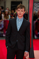 Dane DeHaan arriving for the World Premiere of 'The Amazing Spider-Man 2' at Odeon Leicester Square, London. 10/04/2014 Picture by: Dave Norton / Featureflash