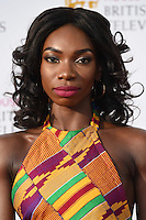 Michaela Coel<br /> at the 2016 BAFTA TV Awards, Royal Festival Hall, London<br /> <br /> <br /> &copy;Ash Knotek  D3115 8/05/2016