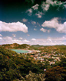 NICARAGUA, an overall view of the town of San Juan Del Sur