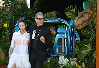 Jeff Goldblum &amp; Emilie Livingston at the premiere for &quot;Jurassic World: Fallen Kingdom&quot; at the Walt Disney Concert Hall, Los Angeles, USA 12 June 2018<br /> Picture: Paul Smith/Featureflash/SilverHub 0208 004 5359 sales@silverhubmedia.com
