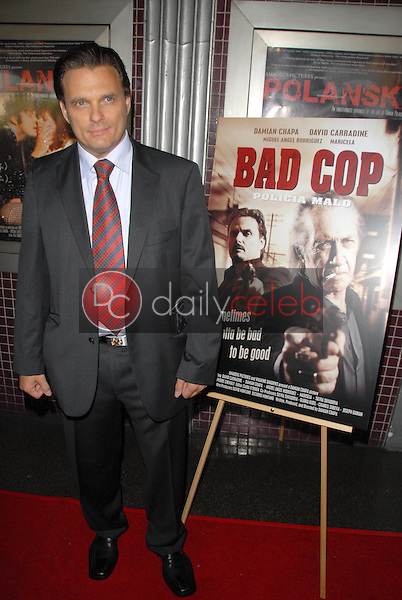 Damian Chapa<br />at the Los Angeles Charity Benefit Premiere of 'Bad Cop'. Fairfax Cinemas, West Hollywood, CA. 07-09-09<br />Dave Edwards/DailyCeleb.com 818-249-4998