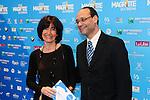 ©F.Andrieu-Bruxelles- 02-02-2013-Magritte du cinéma- Lorette Onkelinckx et Marc Uytendael