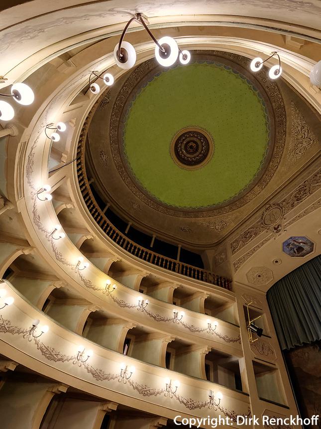 Teatro dei Vigilanti, Portoferraio, Elba, Region Toskana, Provinz Livorno, Italien, Europa<br /> Region Tuscany, Province Livorno, Italy, Europe