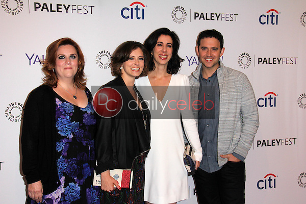 Donna Lynne Champlin, Rachel Bloom, Aline Brosh McKenna, Santino Fontana<br />