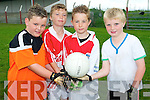 Causway hosted the GAA Cúl Camp last week. .L-R Dylan Casey, Tomás Gaynor, Darragh Quinlan and Eric Walsh.
