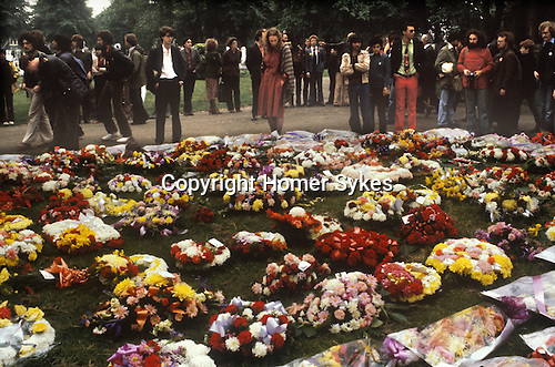Blair Peach funeral 1979, Southall West London 1970s England UK
