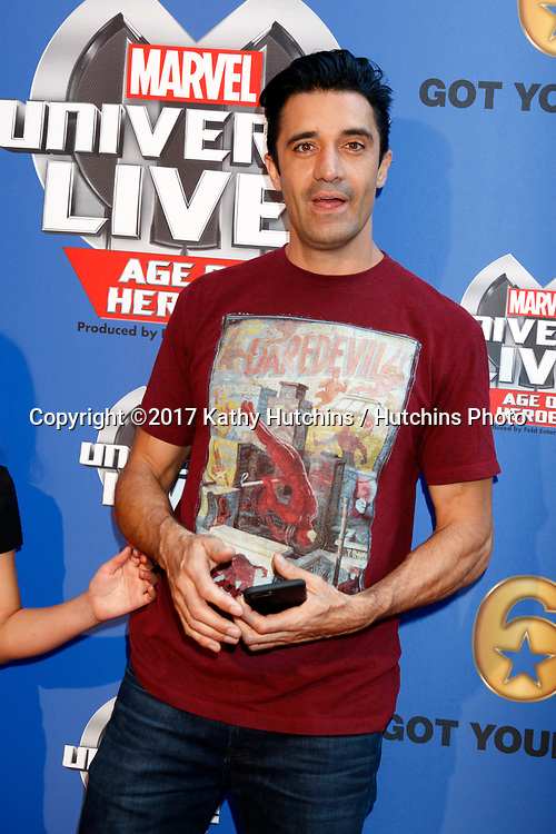 LOS ANGELES - JUL 8:  Gilles Marini at the Marvel Universe Live Red Carpet at the Staples Center on July 8, 2017 in Los Angeles, CA