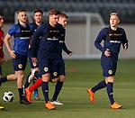 19.3.2018: Scotland u21 training:<br /> Calvin Miller
