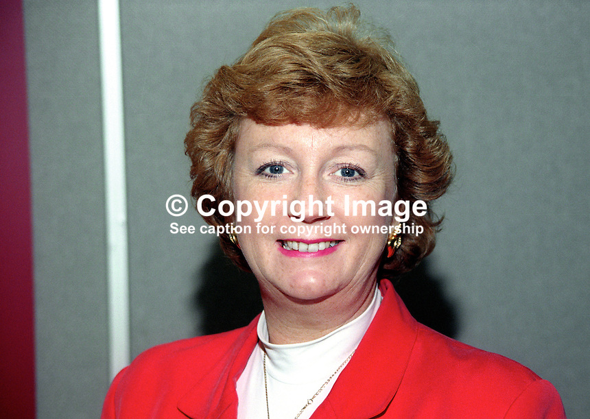 Laura Moffatt, MP, Labour Party, UK, October, 1997, 199710054<br /> <br /> Copyright Image from Victor Patterson, 54 Dorchester Park, Belfast, UK, BT9 6RJ<br /> <br /> t: +44 28 9066 1296<br /> m: +44 7802 353836<br /> vm +44 20 8816 7153<br /> <br /> e1: victorpatterson@me.com<br /> e2: victorpatterson@gmail.com<br /> <br /> www.victorpatterson.com<br /> <br /> IMPORTANT: Please see my Terms and Conditions of Use at www.victorpatterson.com