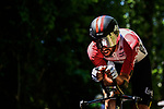 Thomas De Gendt (BEL) Lotto-Soudal in action during Stage 13 of the 2019 Tour de France an individual time trial running 27.2km from Pau to Pau, France. 19th July 2019.<br /> Picture: ASO/Pauline Ballet | Cyclefile<br /> All photos usage must carry mandatory copyright credit (© Cyclefile | ASO/Pauline Ballet)