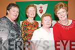 Pioneers Social:   At the pioneers Social in Kirby's Lanterns Tarbert on Friday night were Mary Holland, Tarbert,  Marie McEnery, Ballybunion, Mary Heaphy, Lixnaw and Bernie Curtin, Ballylongford..