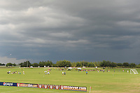 Storms pass by during day three of the US Soccer Development Academy  Spring Showcase in Sarasota, FL, on May 24, 2009.