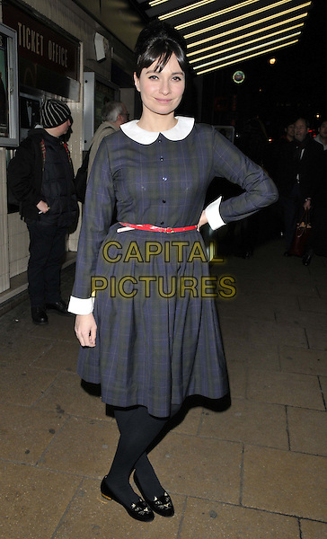 LONDON, ENGLAND - JANUARY 27: Gizzi Erskine attends the &quot;Private Lives&quot; London film premiere, Cineworld Haymarket, Haymarket, on Monday January 27, 2014 in London, England, UK.<br /> CAP/CAN<br /> &copy;Can Nguyen/Capital Pictures