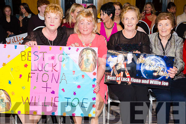 Veronica O Riordan, Bernie Colgan, Mary Godley and Christina Leen at the Ballyheigue GAA 'Strictly Come Dancing' in the Ballyroe Heights Hotel on Saturday night