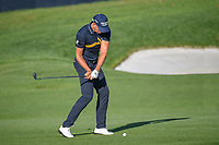 Henrik Stenson (SWE) hits his approach shot on 10 during 1st round of the 100th PGA Championship at Bellerive Country Cllub, St. Louis, Missouri. 8/9/2018.<br /> Picture: Golffile | Ken Murray<br /> <br /> All photo usage must carry mandatory copyright credit (© Golffile | Ken Murray)