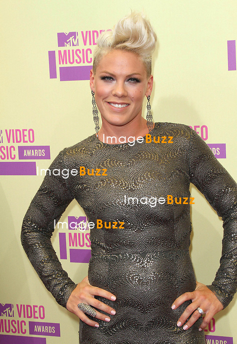 Pink at the MTV Video Music Awards at the Staples Center in Los Angeles, September 6th, 2012....